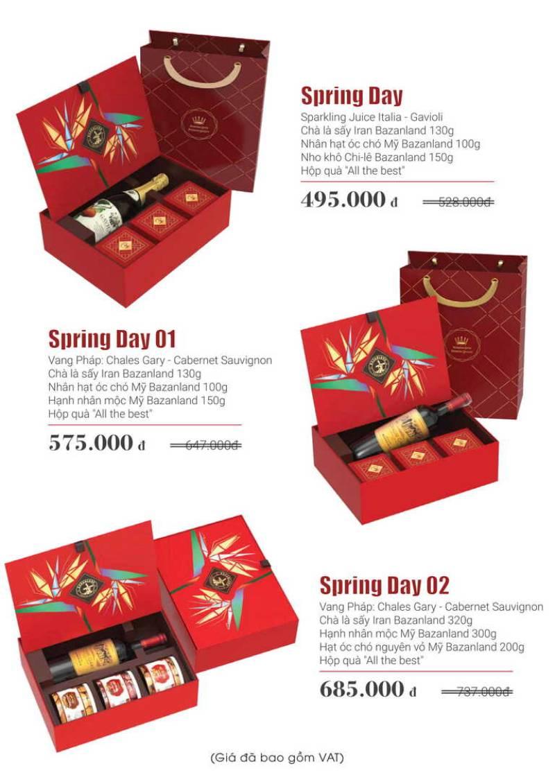 Bảng giá quà tết 500k tại Sagogifts