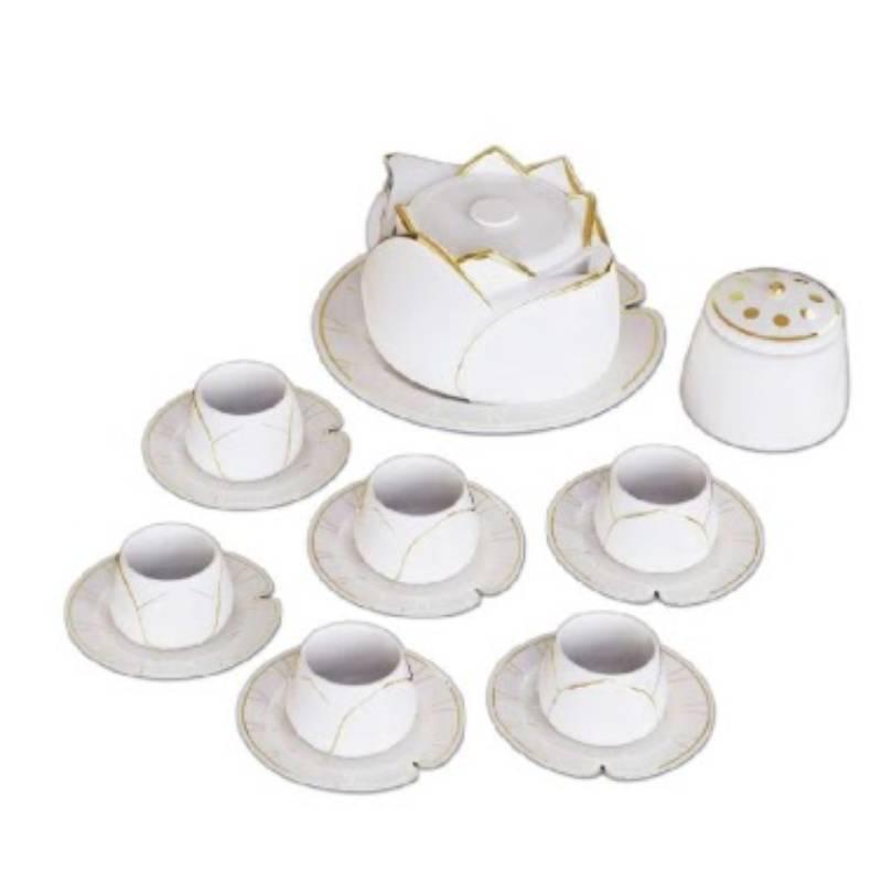 Bộ ấm trà sữa với thiết kế tao nhã