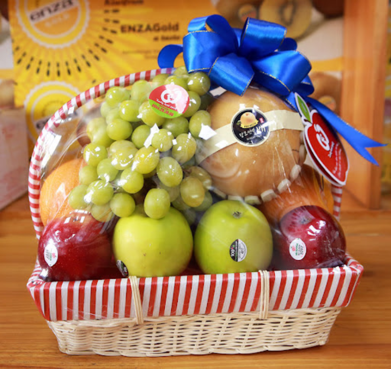 Các loại trái cây tươi cũng ngày càng được ưa chuộng