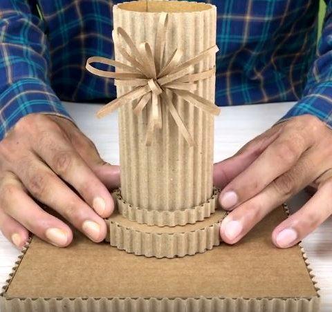 3 cách làm hộp đựng bút để bàn handmade từ nguyên liệu tái chế