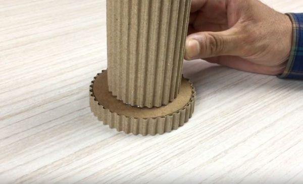 hộp đựng bút để bàn handmade bằng giấy cứng 4