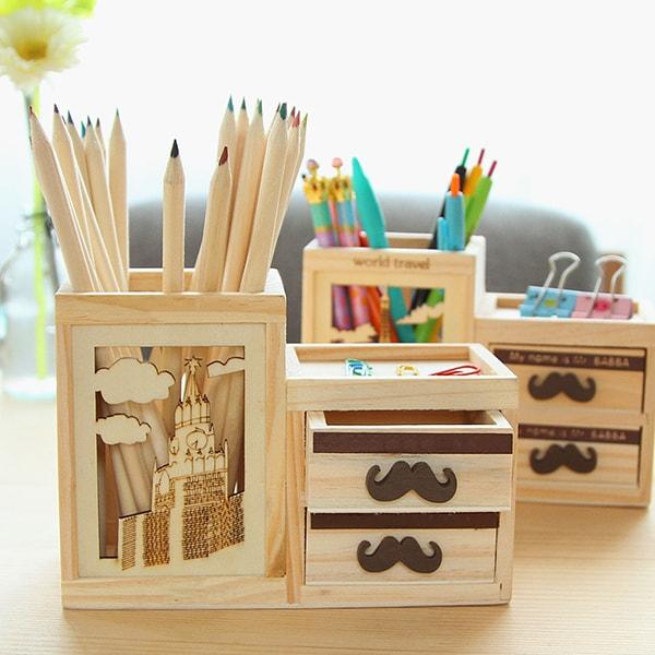 hộp đựng bút để bàn đẹp