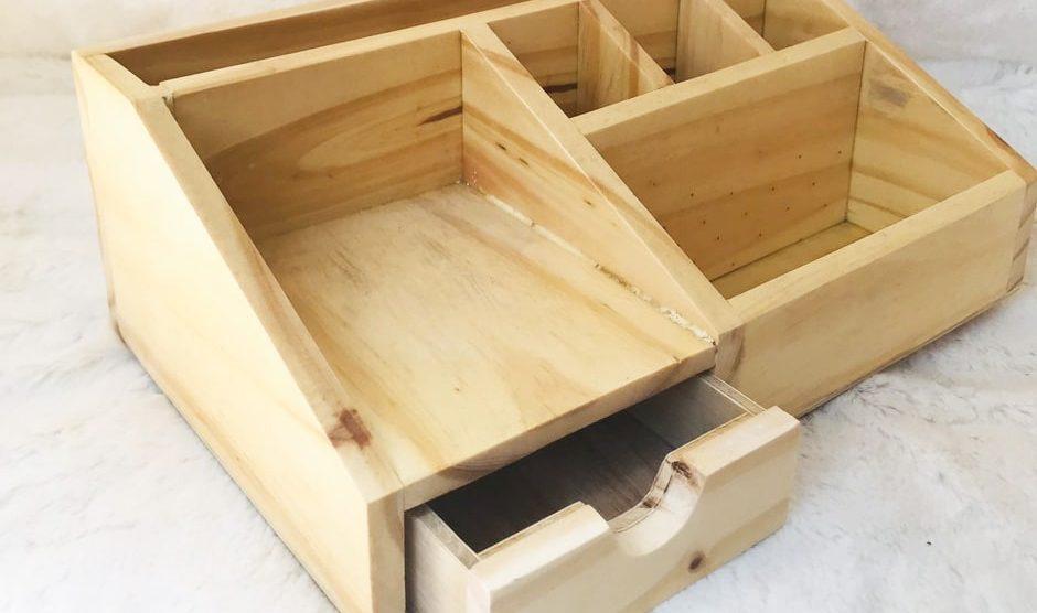 Giải mã sức hút hộp đựng bút văn phòng bằng gỗ