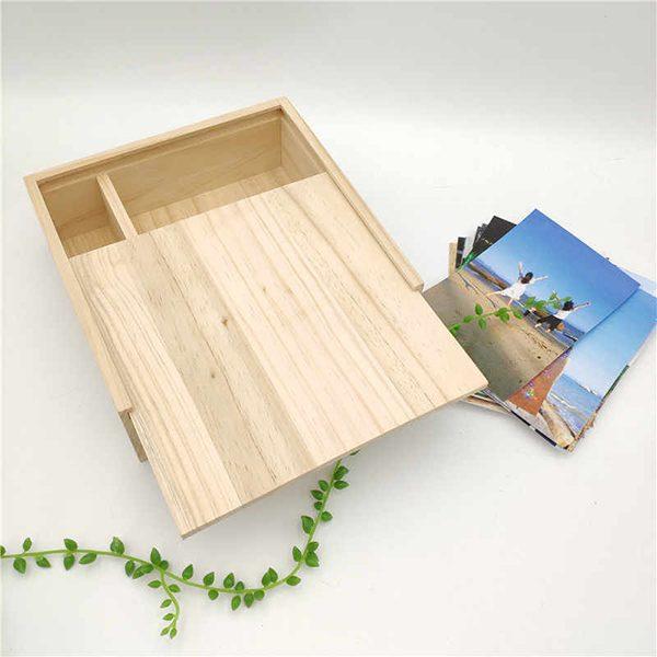 Hộp quà gỗ có ngăn kéo