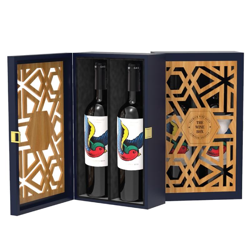 Hộp quà tết rượu vang cao cấp thường có giá khá cao trên thị trường