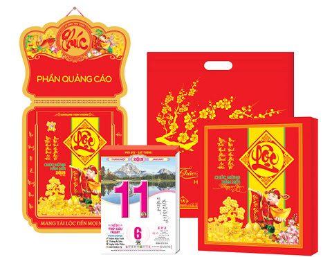 In lịch bloc giá rẻ, chất lượng tại Sagogifts.