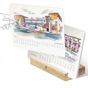 39+ mẫu lịch bàn đế gỗ được doanh nhân ưa chuộng 2021