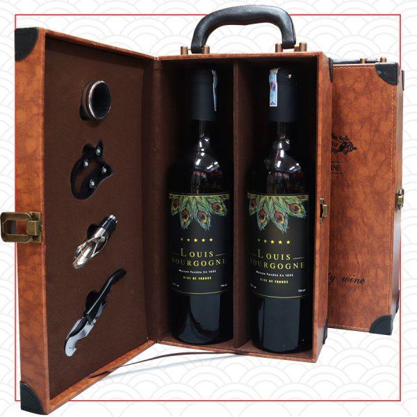quà tăng doanh nhân rượu vang