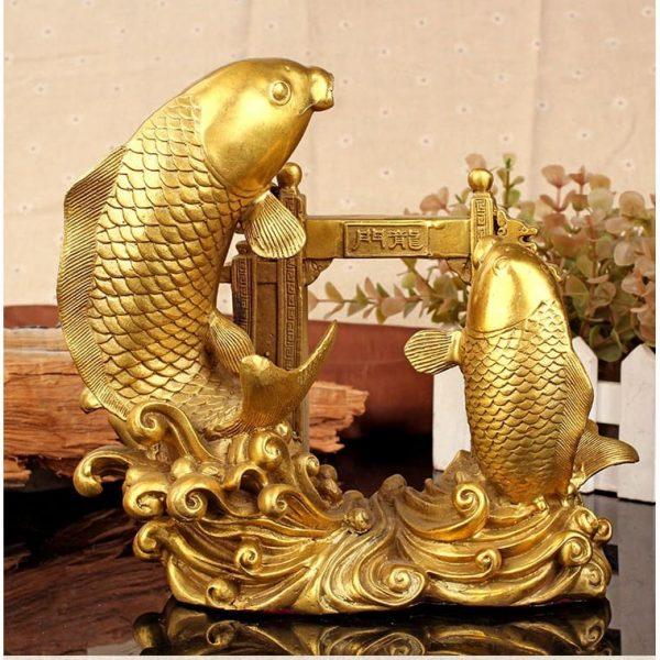 quà tết phong thuỷ tượng cá chép