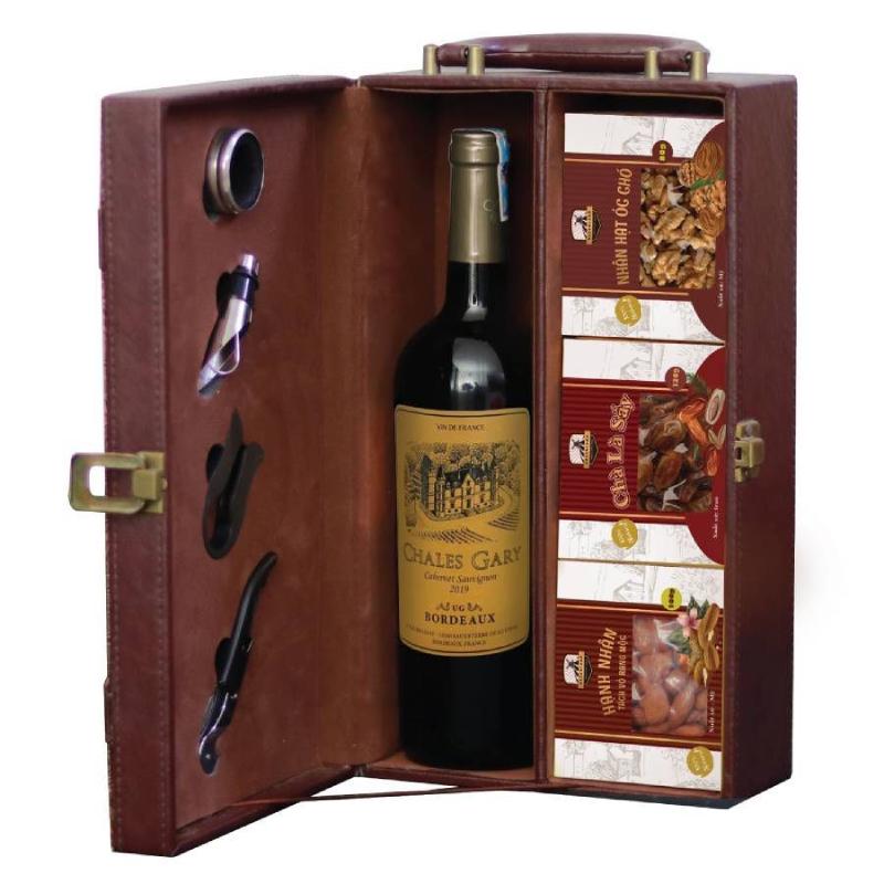 Set rượu vang The Wine Box