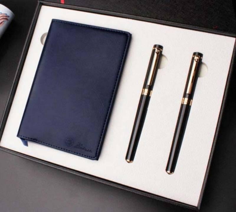 Sổ tay cao cấp + bút ký - bộ đôi hoàn hảo