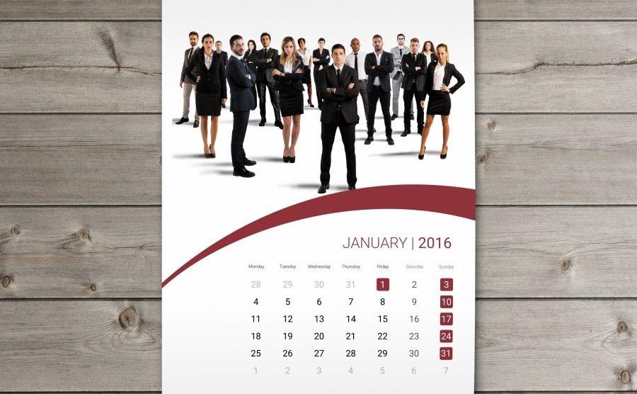 Dịch vụ in lịch treo tường|Thiết kế lịch treo tường đẹp 2021